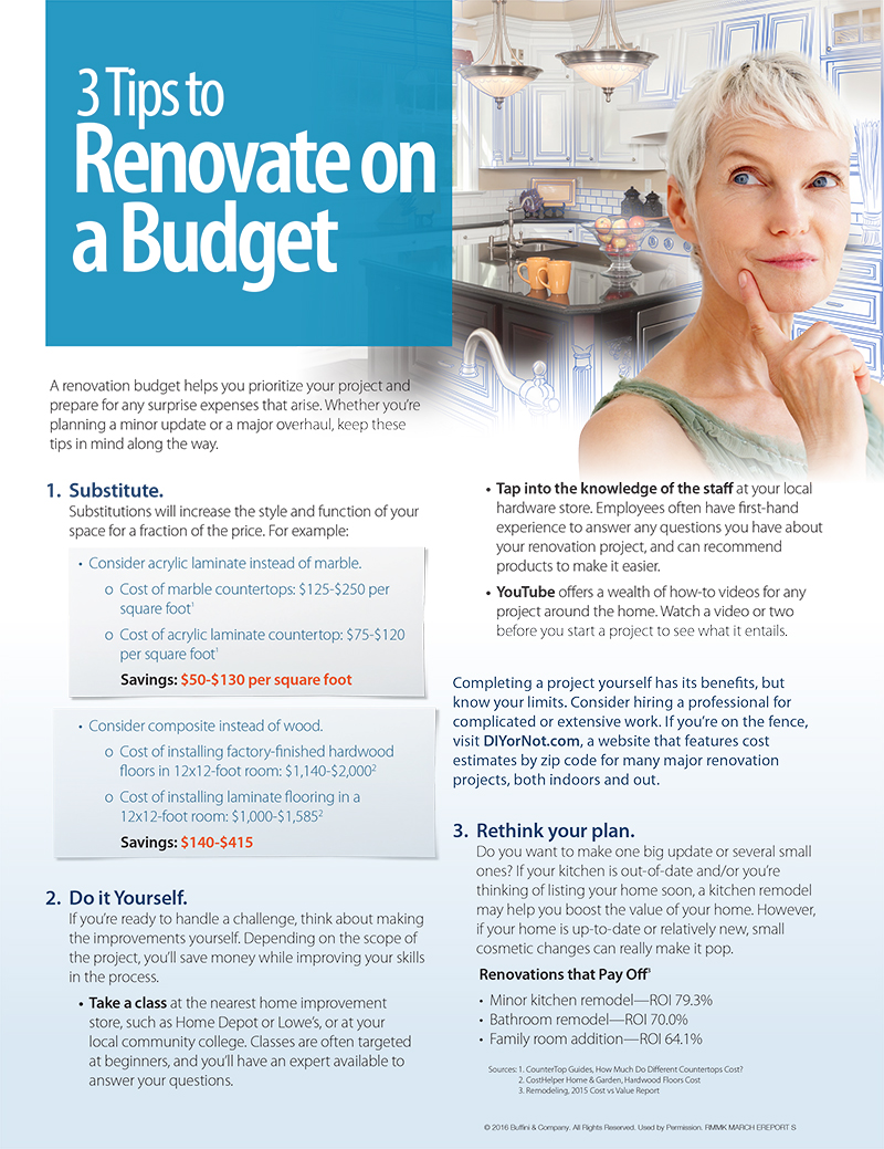 heather ogle realtor at valentine properties 3 tips to renovate on a budget