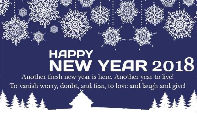 Happy New Year 2018!