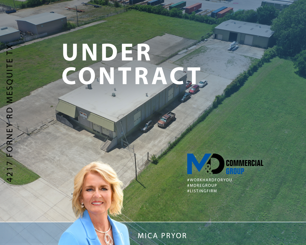 Commercial Property For Sale Under Contract and SOLD