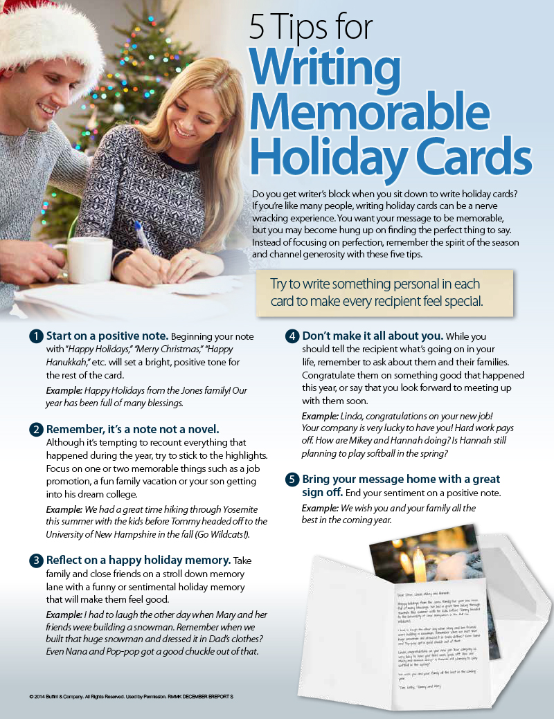 Make the Holidays More Memorable