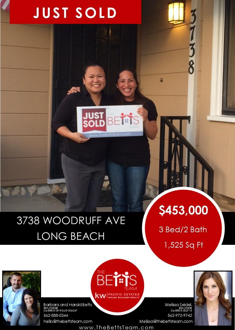 JUST SOLD!!!  3738 Woodruff Avenue, Long Beach