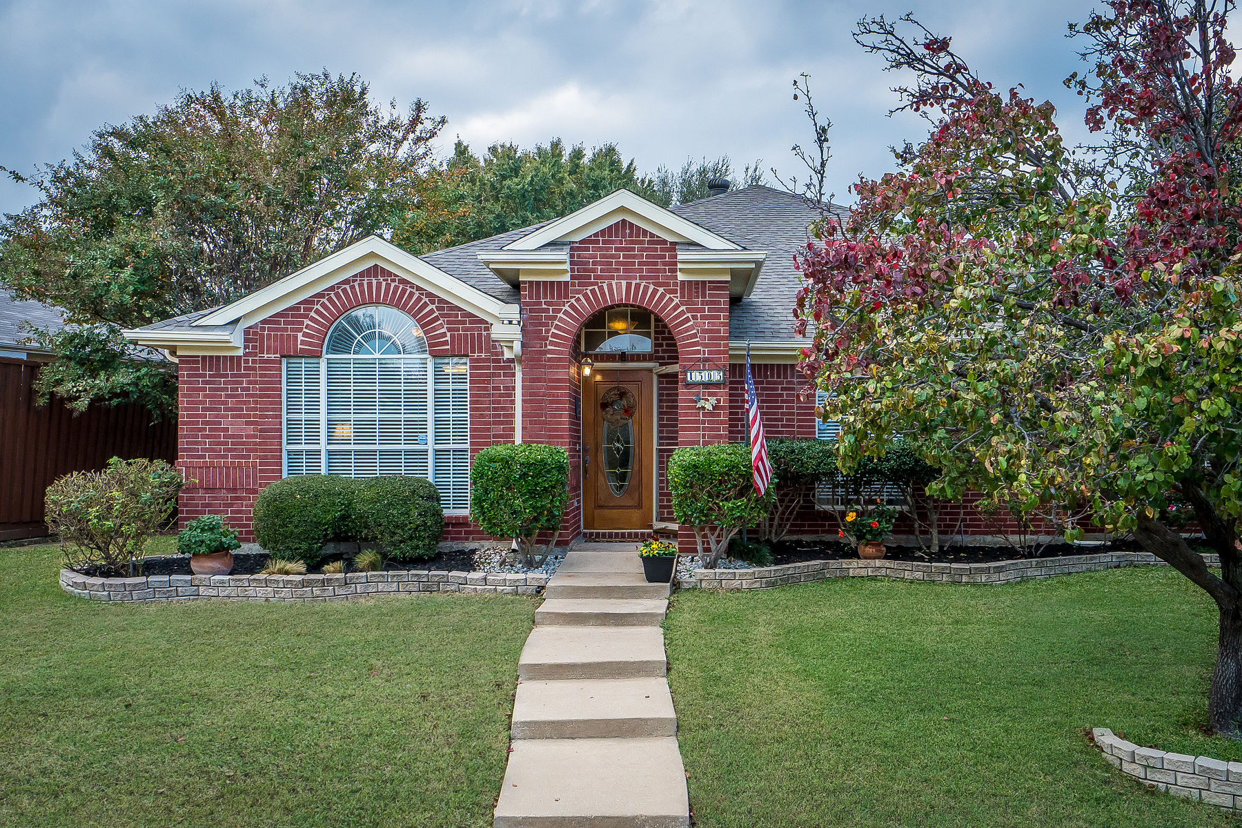 ... Single Story Is Located In The Desired Cross Creek West Neighborhood  Just North Of Legacy Between Alma And Custer. The Brick Elevation Home Is  Just ...