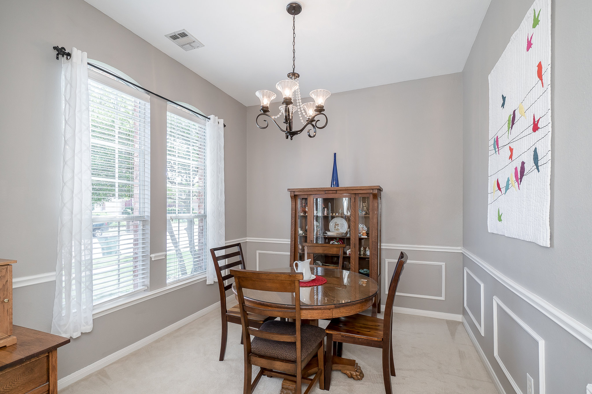 Open Floor Plan Wood Floors And Lots Of Natural Light Add To The Comfort This Home Dining Room Off Entry Is Perfect For Celebrating Special Occasions