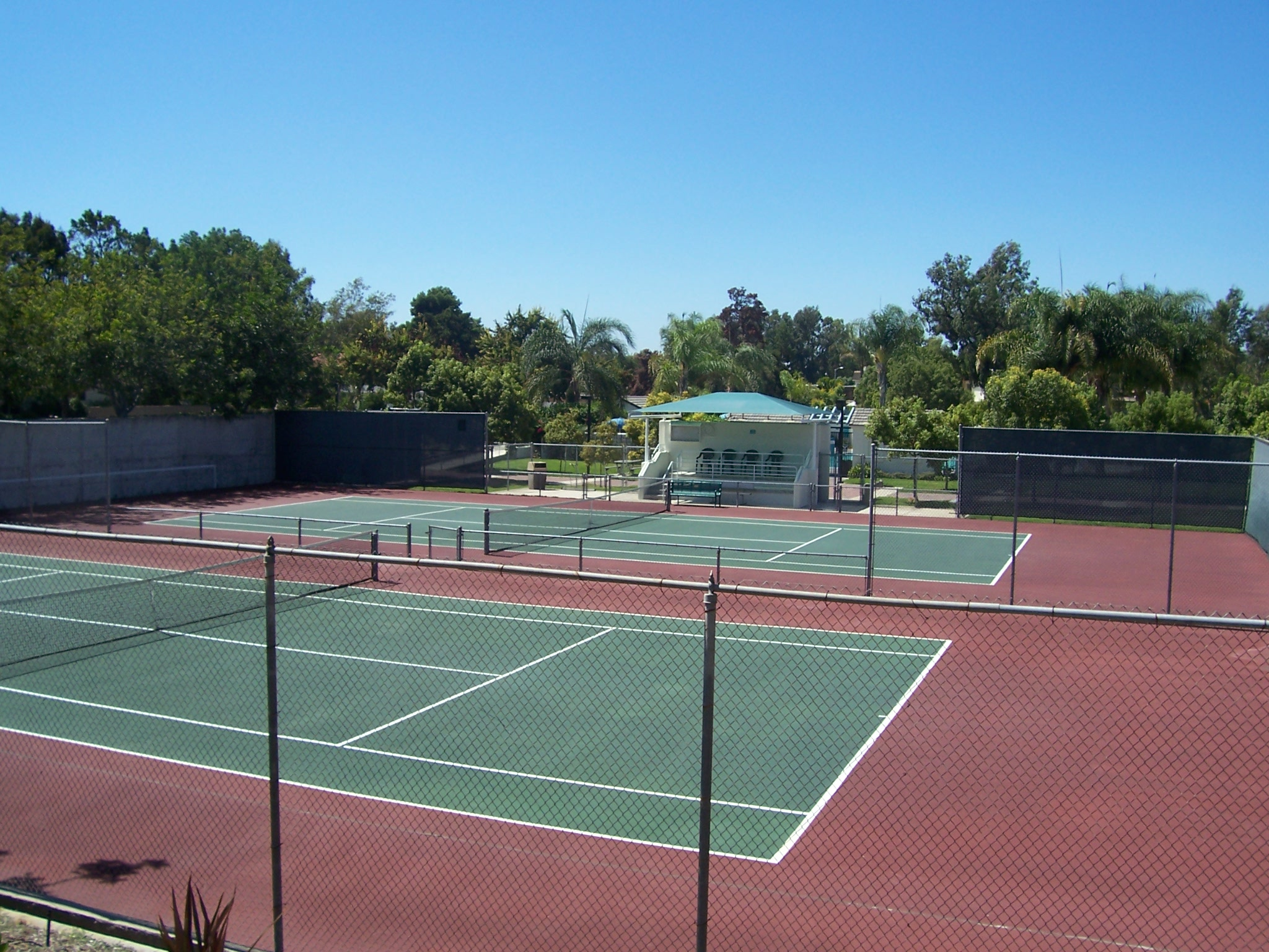 Village 1, UCA Tennis Courts