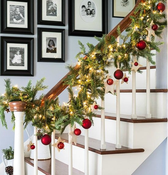 Have yourself a merry and safe little christmas party when hanging your decorations or lights above your height use a buddy to spot you or hold the ladder while you climb it you want your house to look solutioingenieria Images
