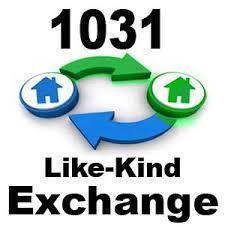 1031 Like Kind Tax Exchange