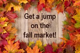Fall is a good time to sell