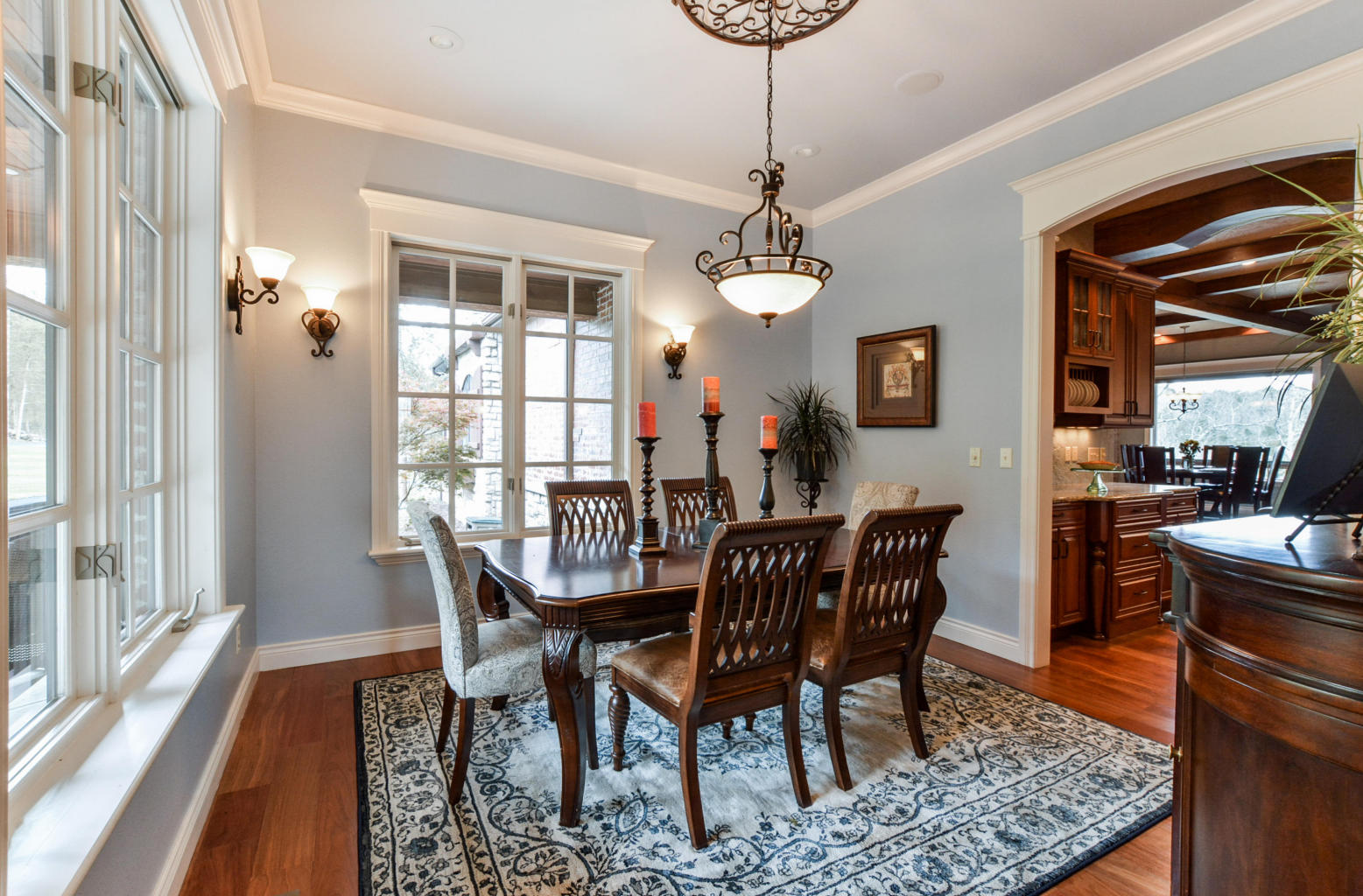 Branson Area Home Formal Dining Room