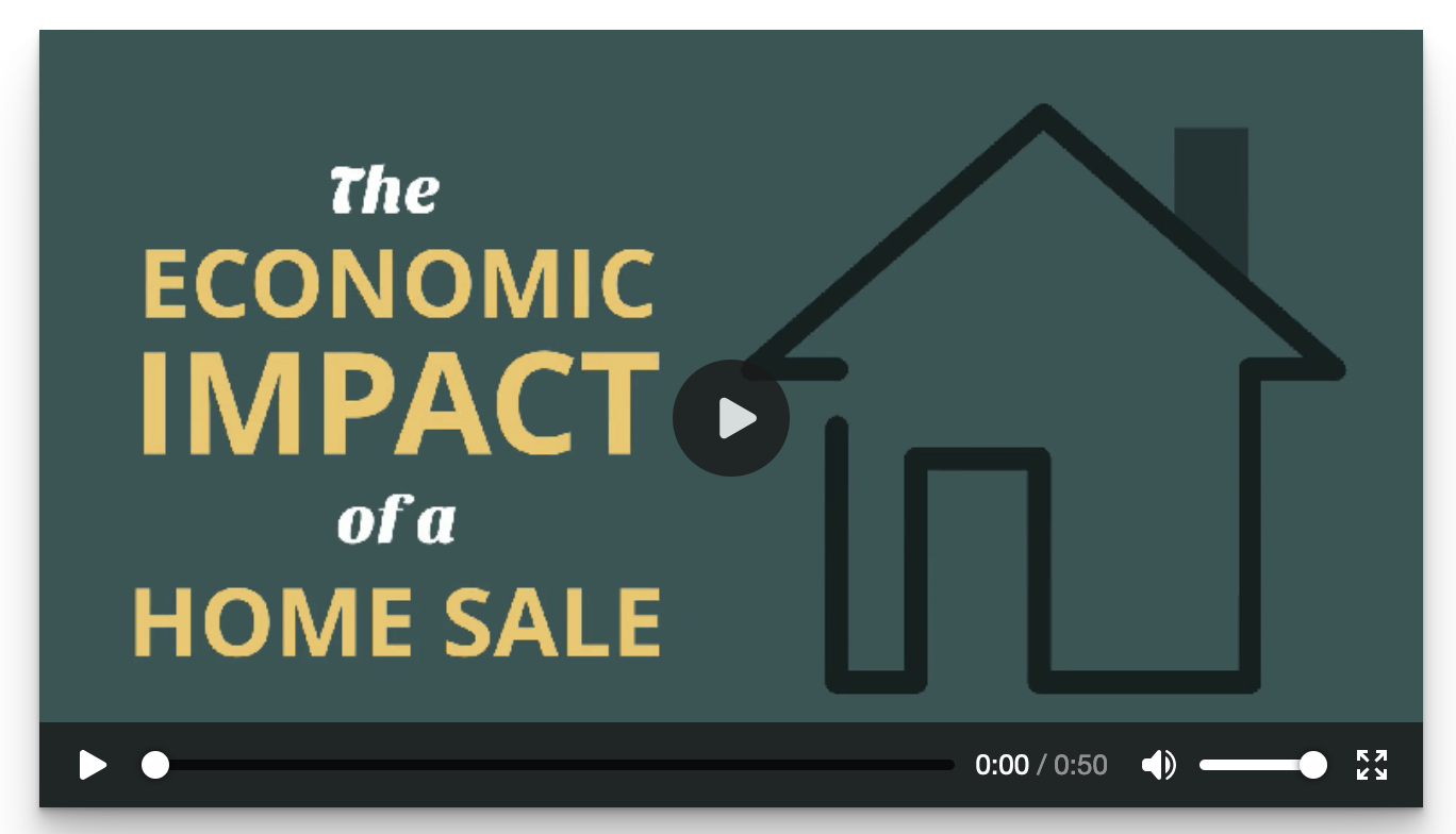 The Economic Impact of a Home Sale