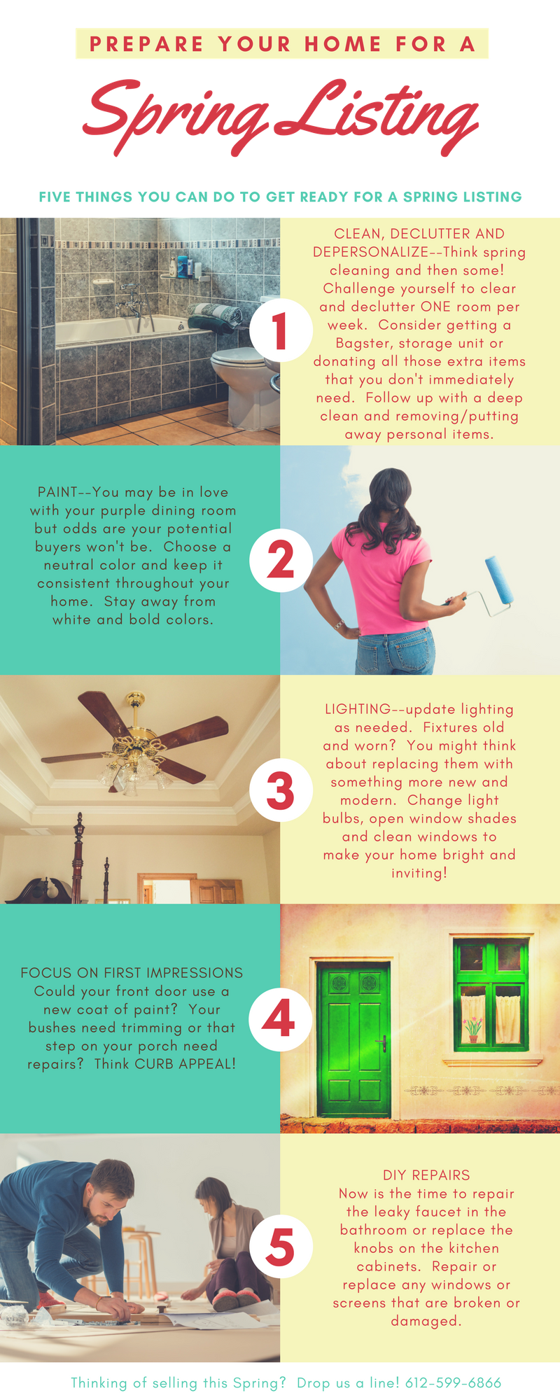 Preparing your home for a Spring Listing