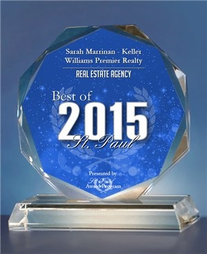 2015 Best of St. Paul Award in the Real Estate Agency Category