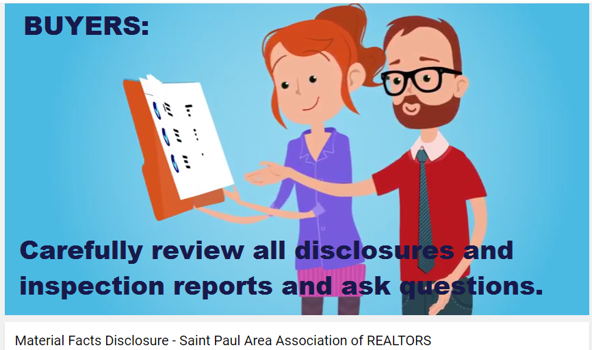 Home buyers should review all disclosures and reports!
