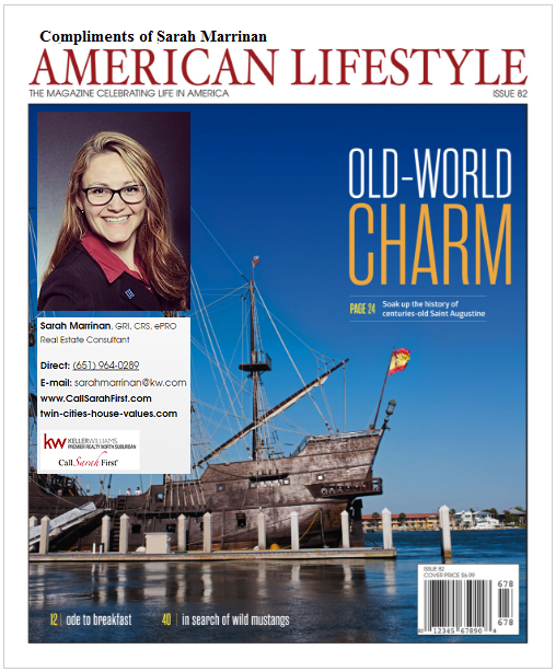 Sarah Marrinan's American Lifestyle Magazine