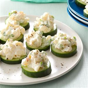 Shrimp Cucumber rounds