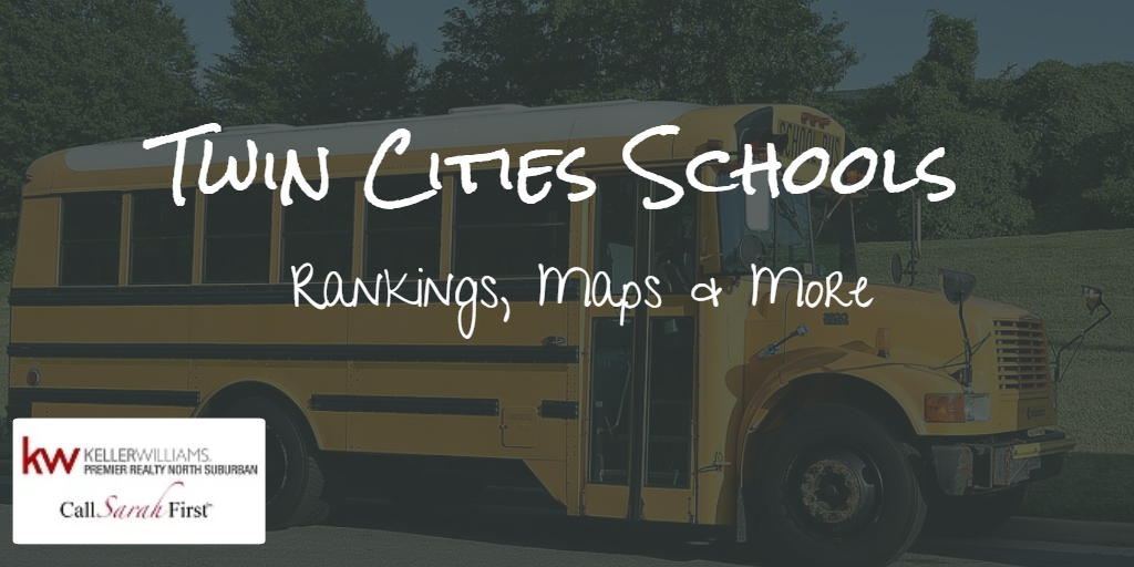 Twin Cities Schools: Rankings, Maps & More
