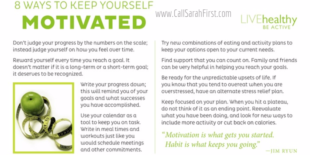 8 Ways to Keep Yourself Motivated