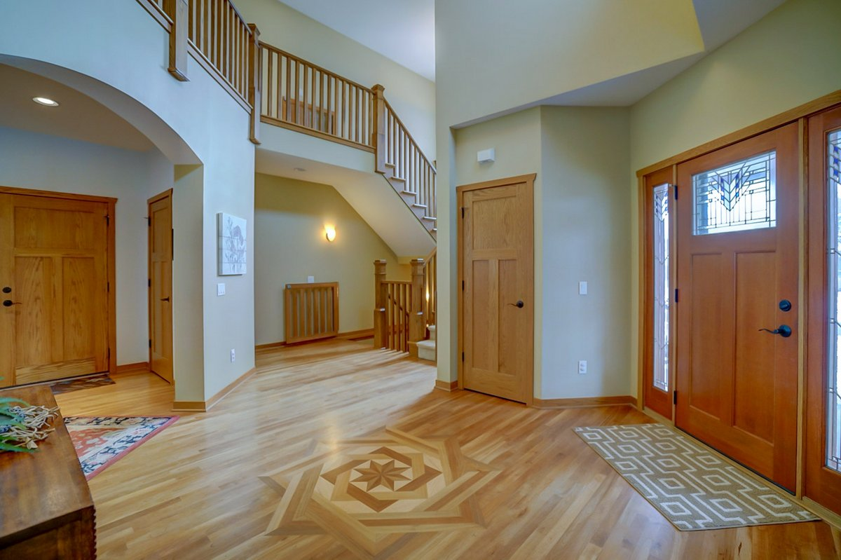 Grand Staircase/Foyer of 5612 Nutone St, Fitchburg