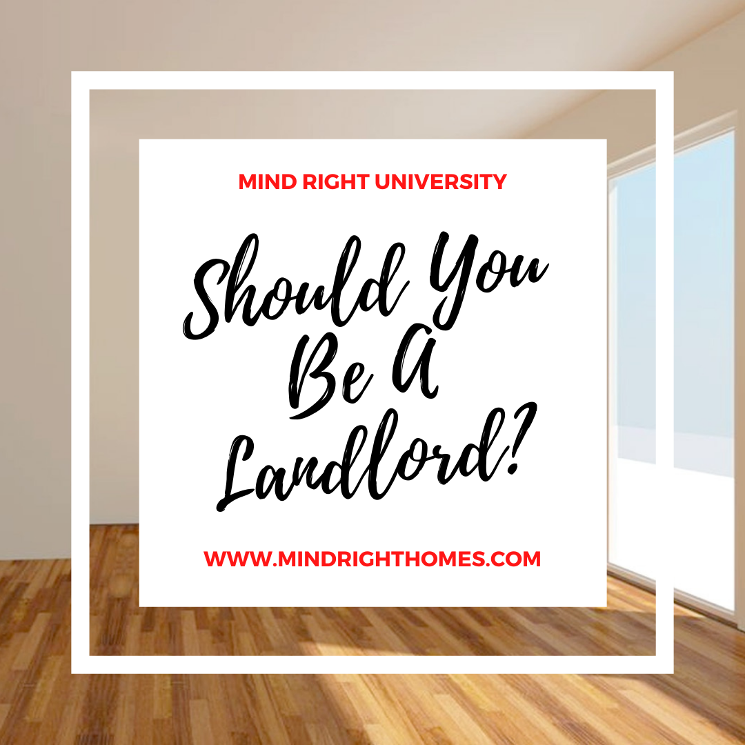 Should You Become A Landlord?