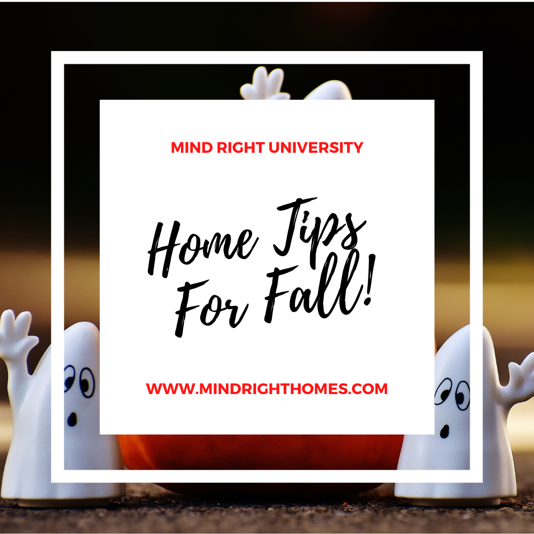 Things You Should Do to Your Home Before Fall Starts