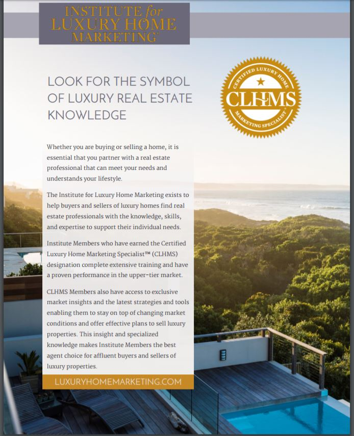 Look For The Symbol Of Luxury Real Estate Knowledge
