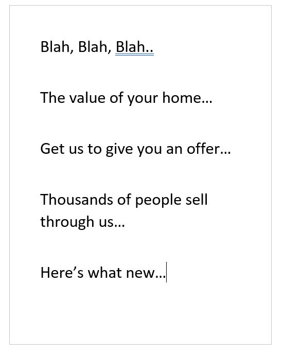 Getting More Of Those Letters About Selling Your Home?
