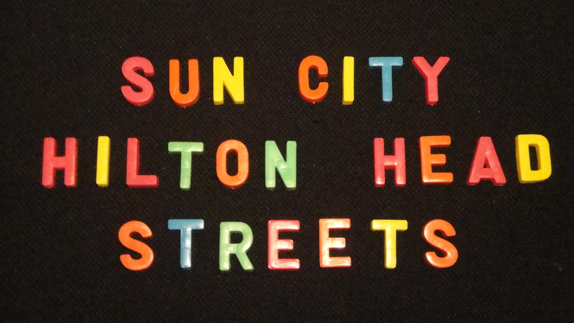 Sun City Hilton Head Streets