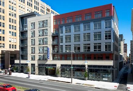 Hanover North Broad Philadelphia luxury condominiums.