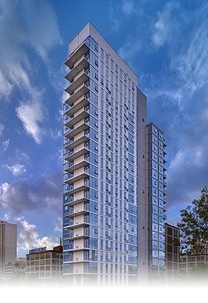 One Riverside Condominium Philadelphia.