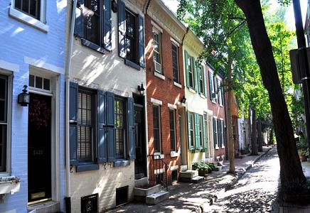 Fitler Square Neighborhood Philadelphia.
