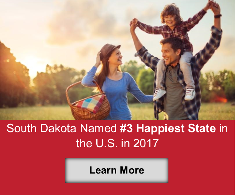 Happiest State South Dakota