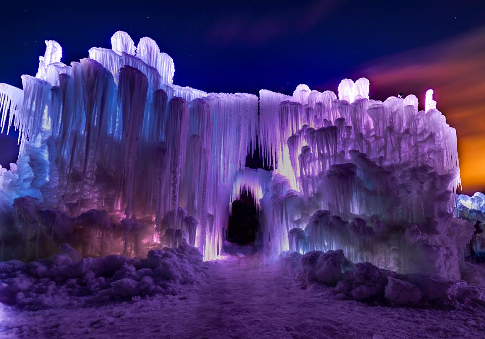 stillwater ice castle opens january 6th tickets on sale now - Violet Castle 2016