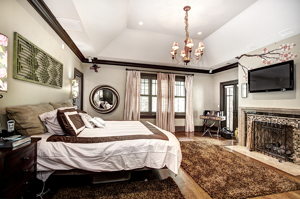 Trending in Charlotte Homes: Luxurious Elaborate Master Suites