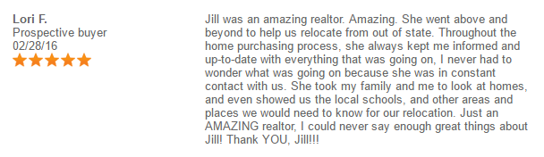 Testimonials-Review: The Best Realtor I've Ever Had