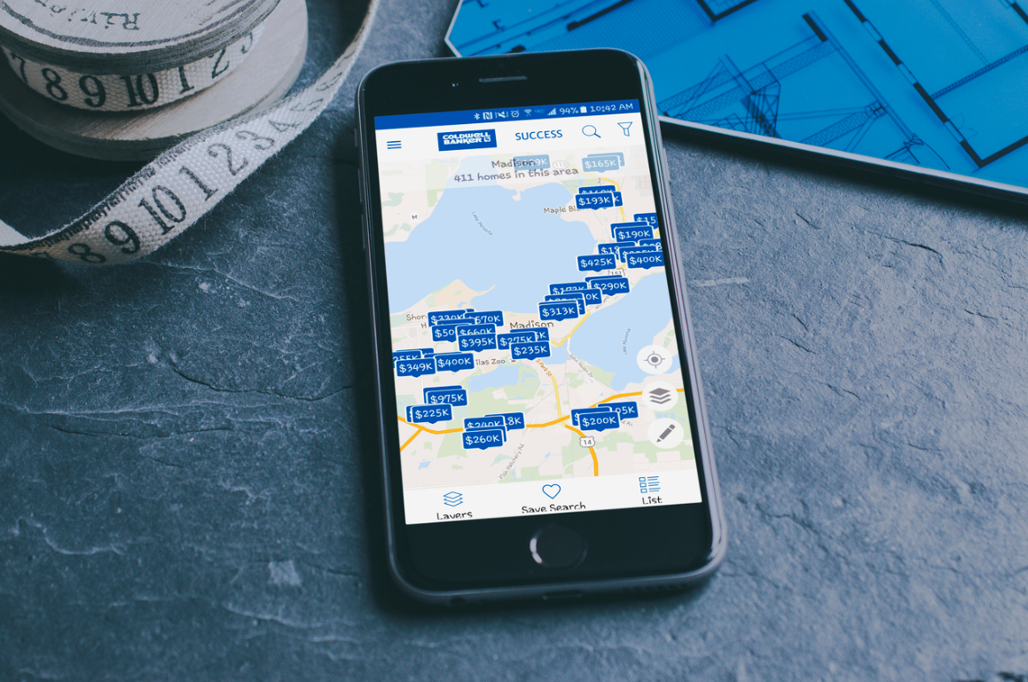 Download the CB Success Mobile Home Search App