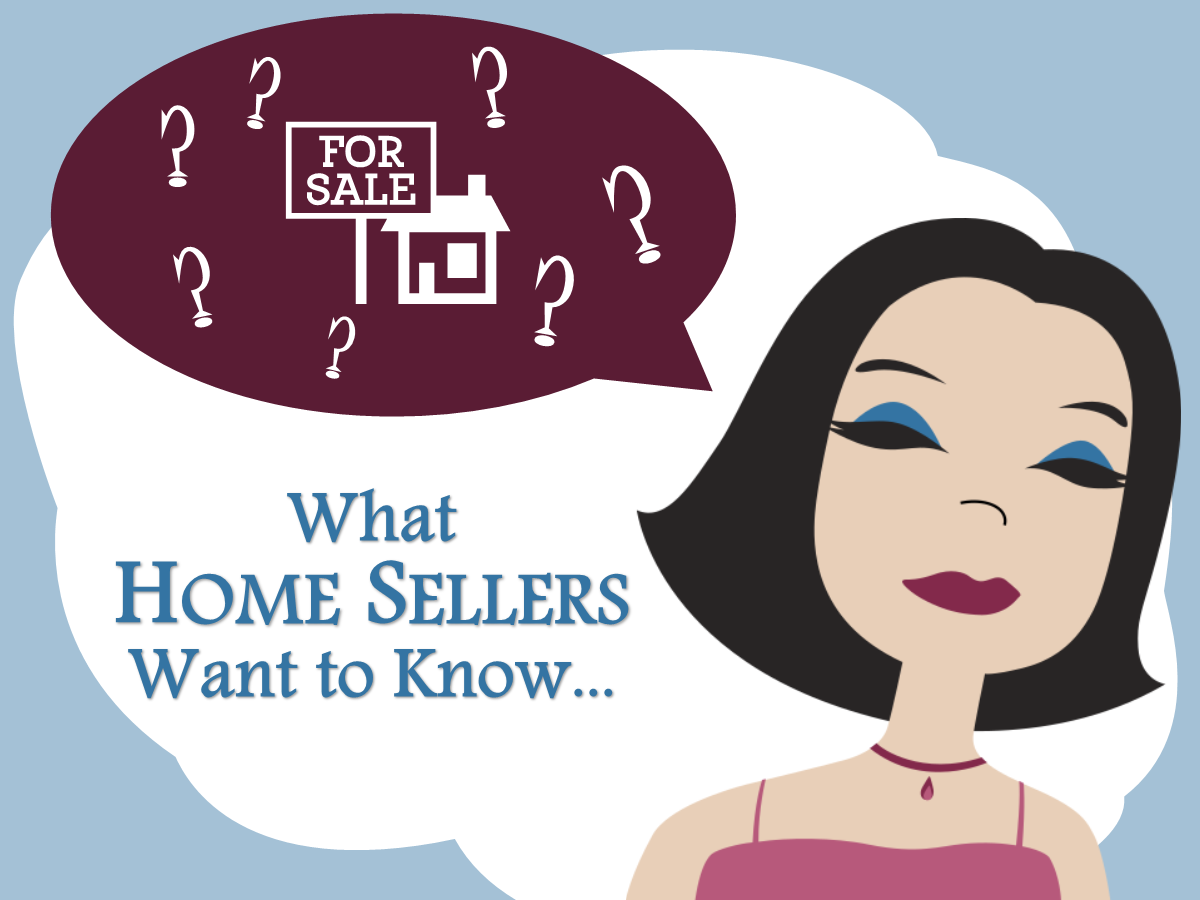 Common questions that home sellers ask us with our best answers.