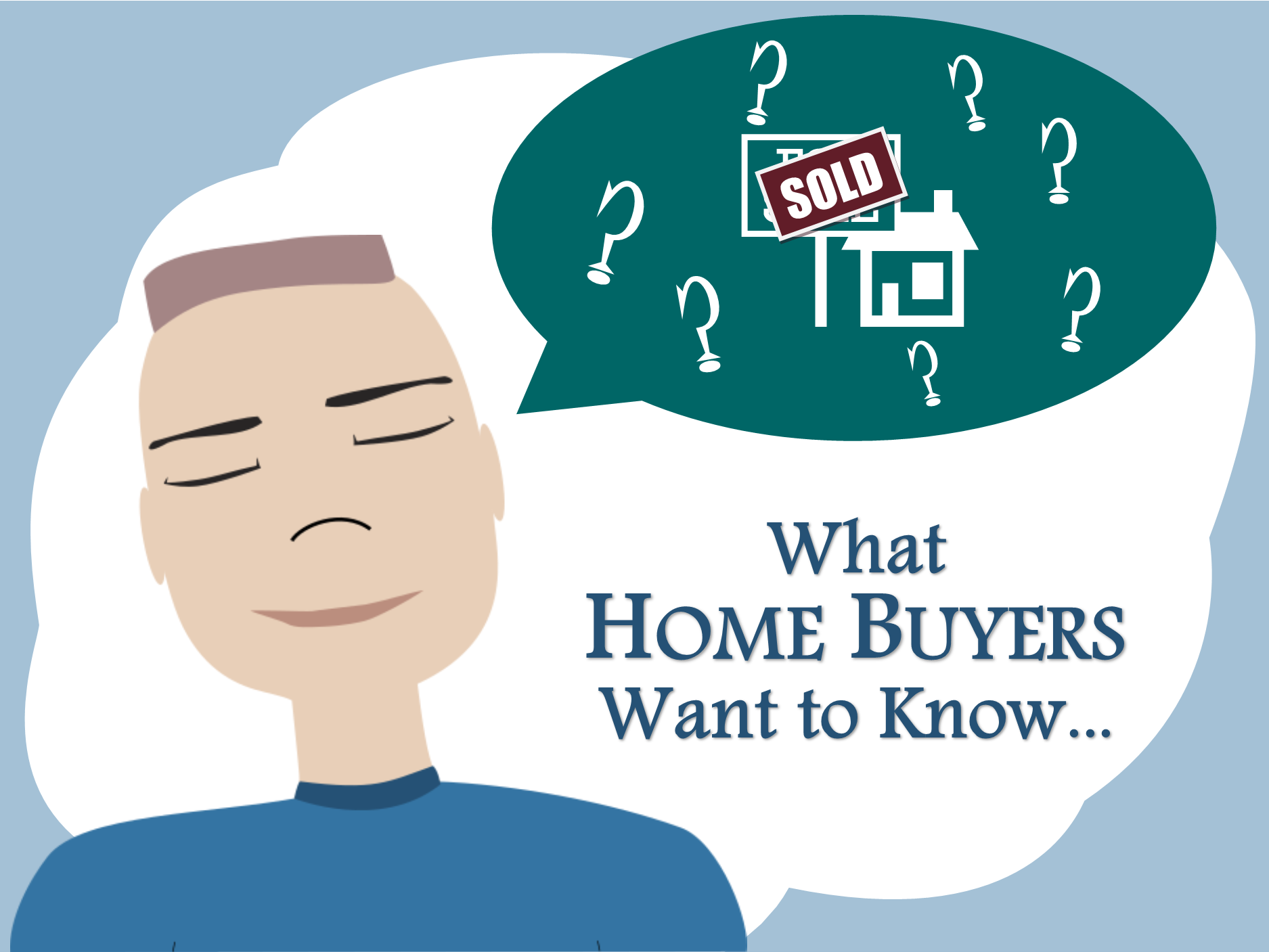 Common questions that home buyers ask us with our best answers.
