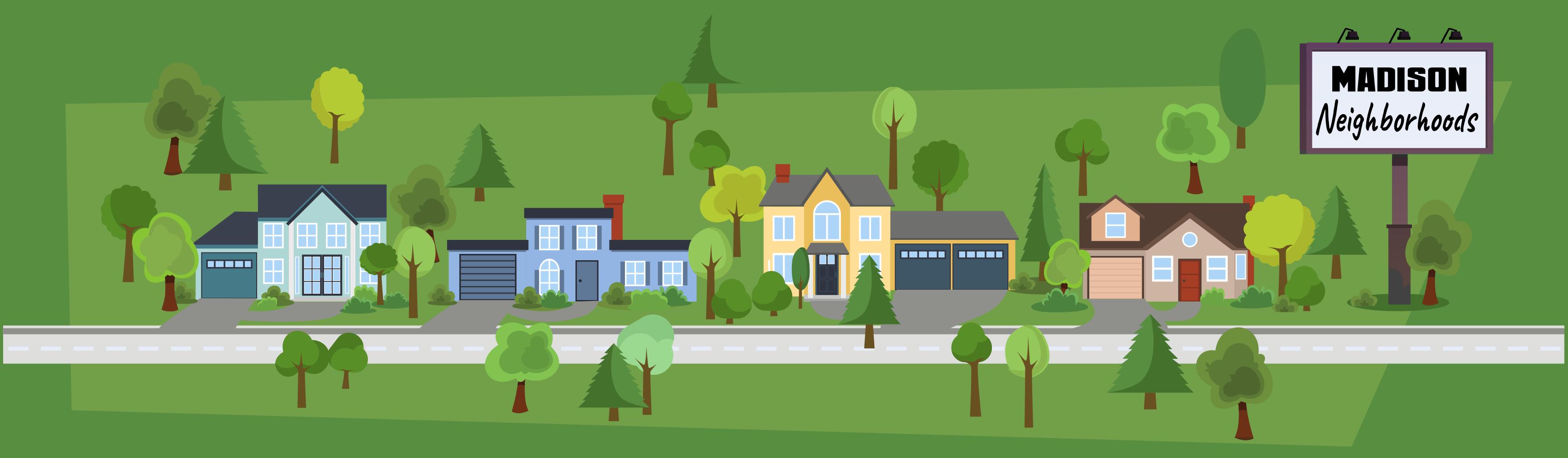 Neighborhoods in the city of Madison, Wisconsin