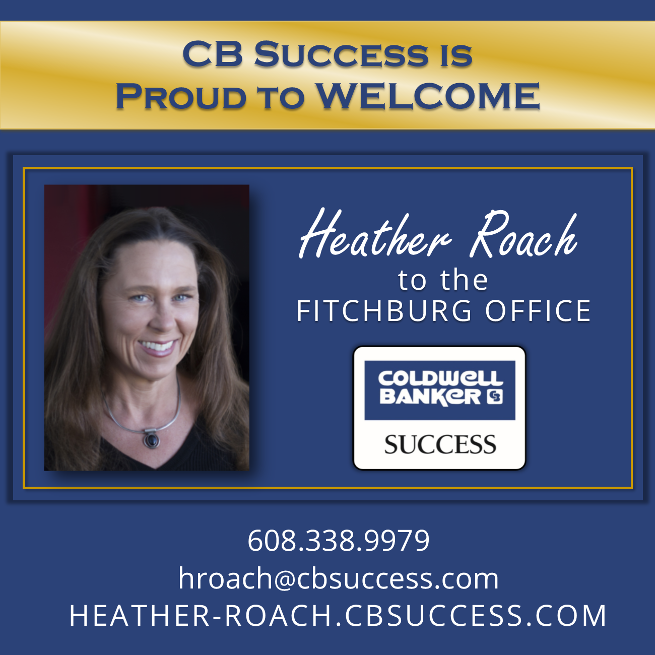 Welcome Heather Roach!
