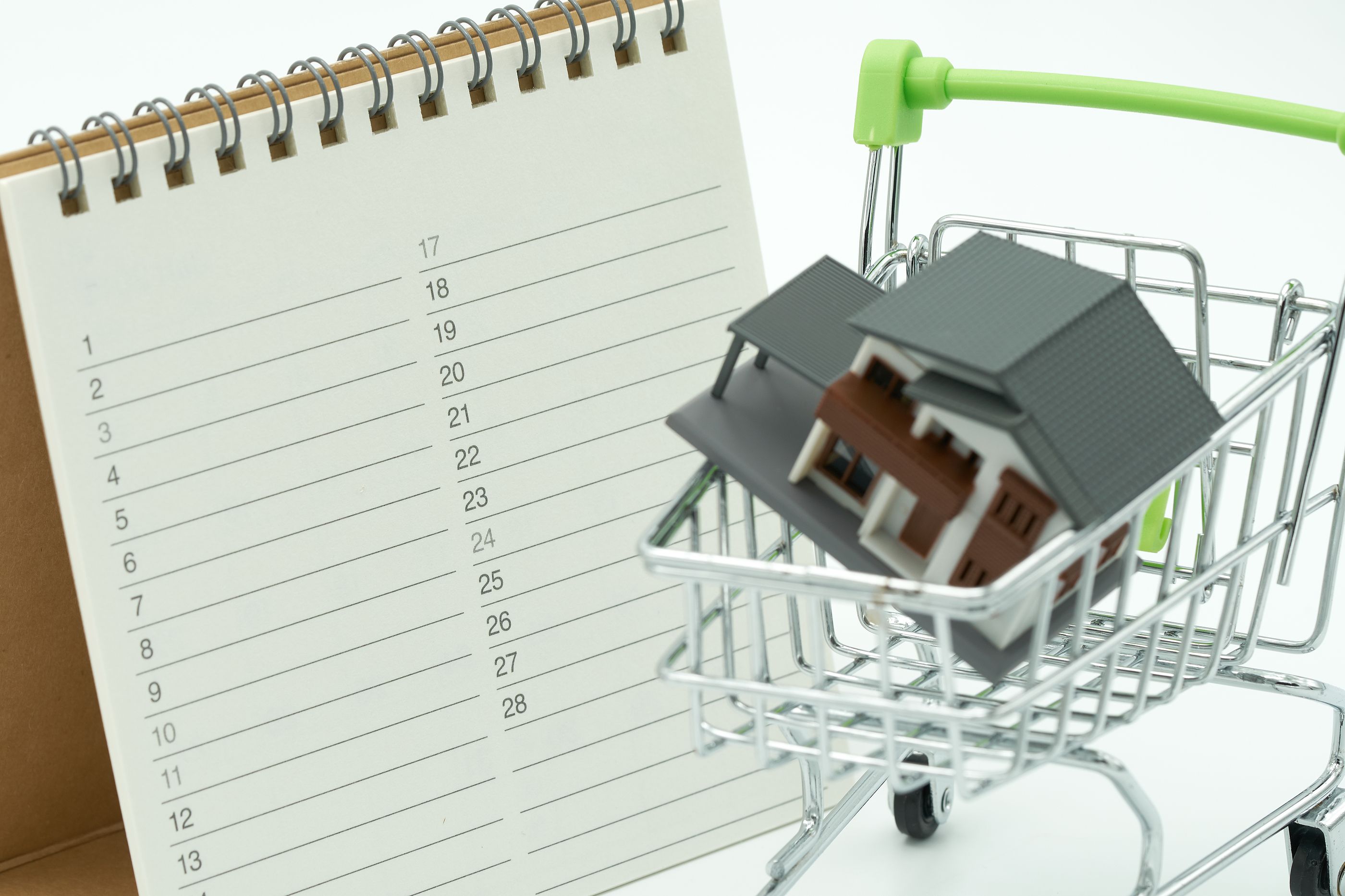 Home Buyer's Wishlist with Home in Shopping Cart