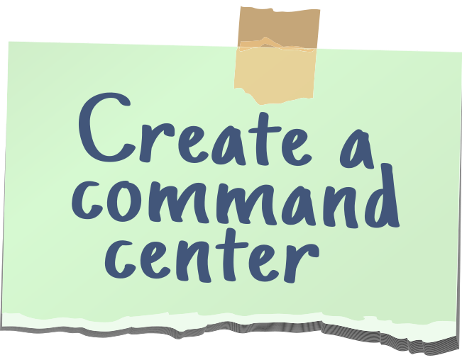 Create a command center note
