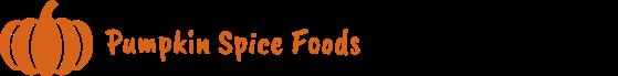 pumpkin spice foods banner