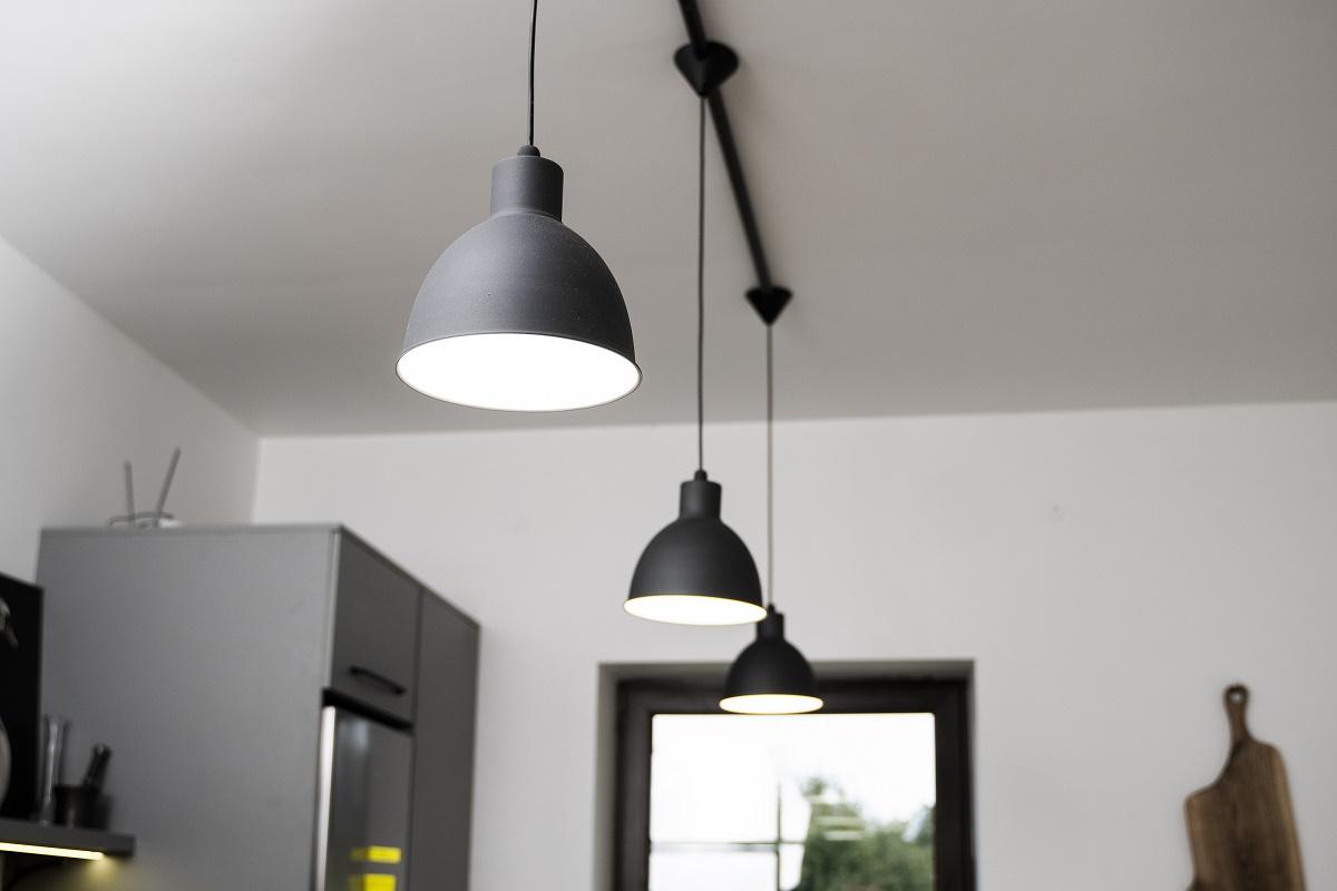 industrial look kitchen lighting