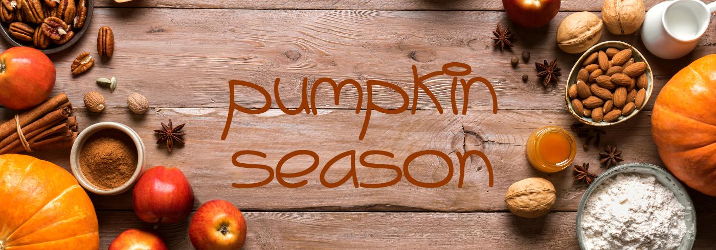 pumpkin season banner