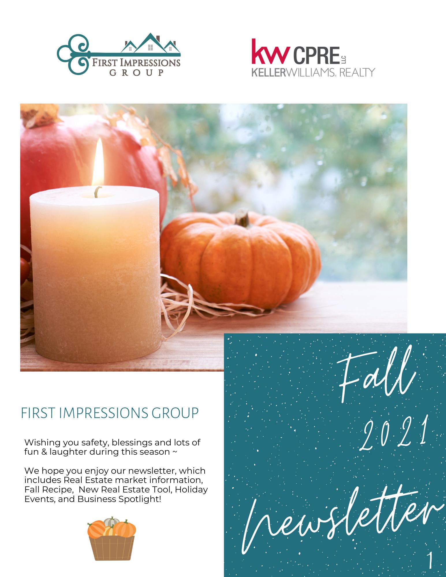 Fall Newsletter 2021