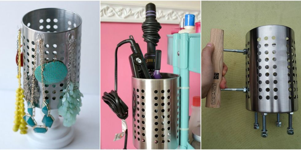 8 Brilliant New Ways to Use IKEA\'s ORDNING Utensil Holder