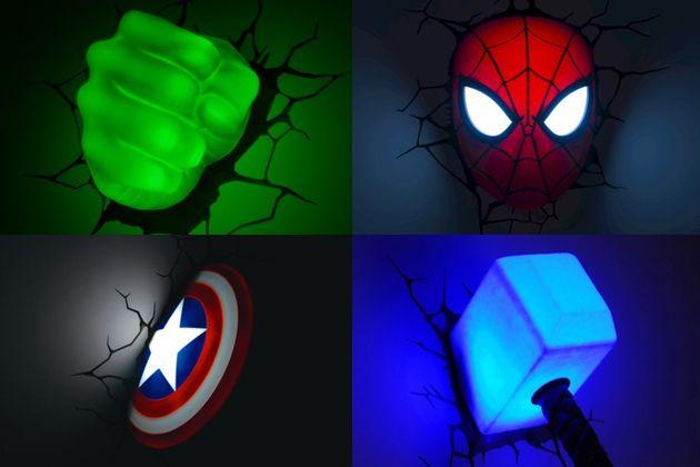 Marvel Comics Lights