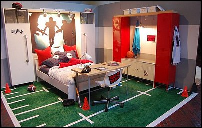 Boys Room Ideas Sports Theme sports decor for boys bedroom. sports themed room compact kids