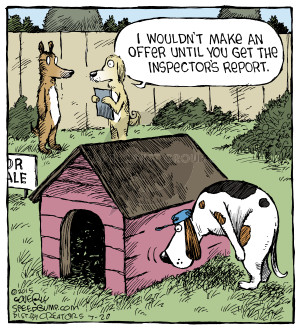 Inspections are important to both a buyer and seller
