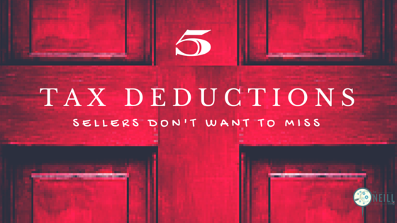 5 Tax Deductions Sellers Won't Want to Miss