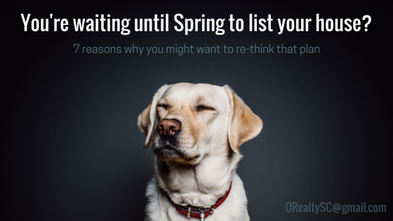 7 Reasons Why You Might Want to Re-Think Waiting for Spring